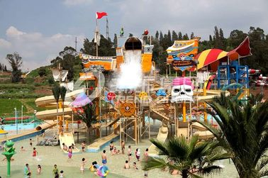 Çin Gigantic Water House Aqua Playground Water Park Amusement Park Equipment Tedarikçi