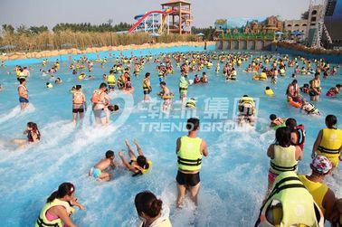 Çin Attractive Water Park Wave Pool / Aqua Park Wave Pool Equipment Tedarikçi