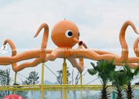Çin Customized Outdoor Octopus Spray For Aqua Play Water Park Items Fiberglass Equipment Fabrika