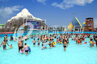 Çin Air Blower Water Park Wave Pool Construction Family Use Custom Size for Water Park şirket