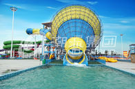 Çin Water Park Equipment Adult Large Water Slide 4 Persons Riding şirket