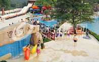 Çin Custom Construction Lazy River Equipment For Aqua Water Park şirket