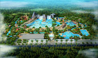Çin China tai'antheme theme adult amusement house hotspring water theme park resort equipment slides rides projects design p Fabrika