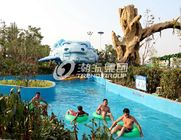 Çin Giant Lazy Swimming Pool Commercial Water Park Equipment For Family Fabrika
