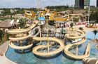 Çin Giant Customized Water Playground Equipment for Aqua Theme Park Fiberglass Water Slide Fabrika