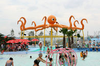 Çin Customized 8m Height Octopus Spray  For Aqua Water Playground Equipment şirket