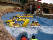 Çin Swimming Pool Equipment Water Park Lazy River For Children / Family Fun Amusement Park Fabrika