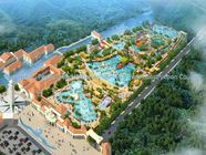 Çin Water Park Conceptual Design / Customized Water Park / Professional Water Park Constructs Team Fabrika