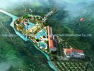 Çin Amusement Water Park Conceptual Design / Professional Design Team for Water Park şirket