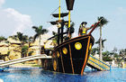 Çin Customized Fiberglass Pirate Ship / Corsair Aqua Play Water Park Equipment şirket