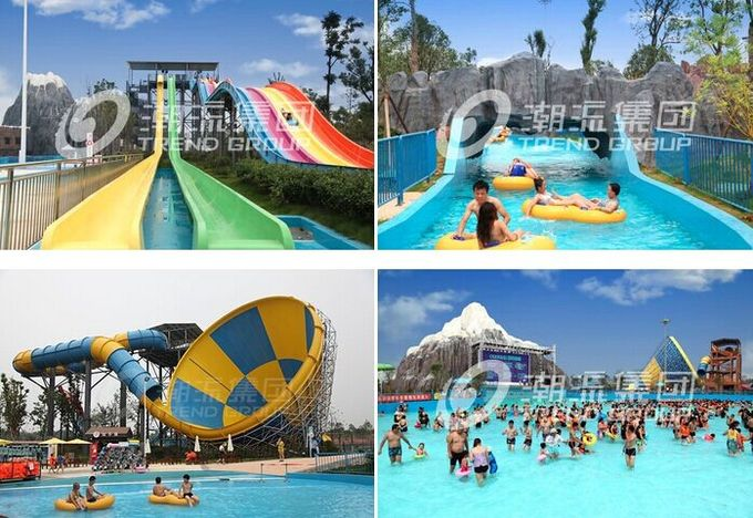 Safety Large Scale Waterpark Project Design For Outdoor Water Theme Park