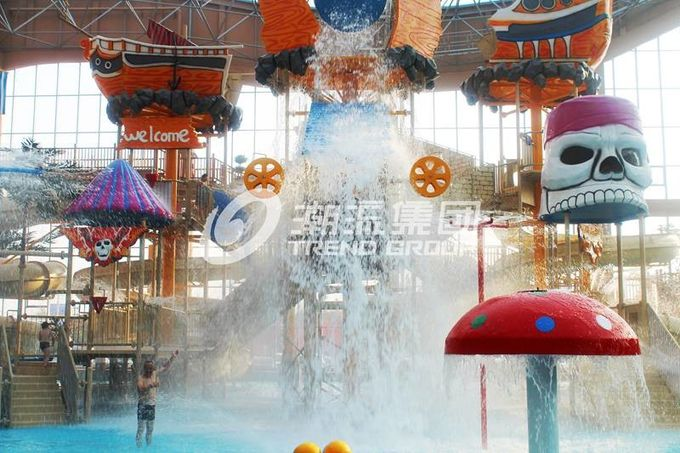 Gigantic Water House Aqua Playground Water Park Amusement Park Equipment