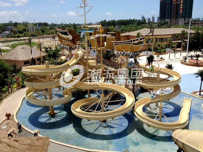 Giant Water Playground Equipment for Aqua Theme Park Customized Water Slide