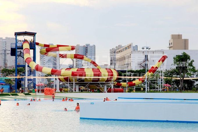 Outdoor Water Park Wave Pool / Security swimming pool wave machine